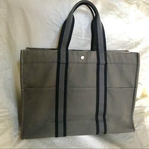 Hermès Slate Gray Fourre Tout GM extra large Tote